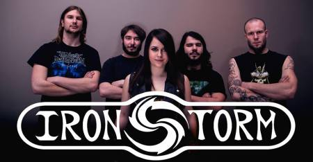 Ironstorm - promo band pic - band logo - 2014 - #44999