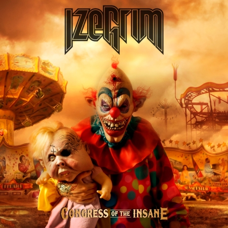 Izegrim - Congress Of The Insane - promo cover pic