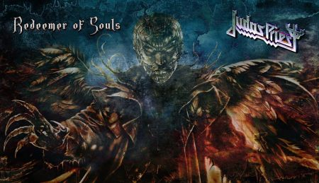 Judas Priest - Redeemer Of Souls - promo cover banner - 2014