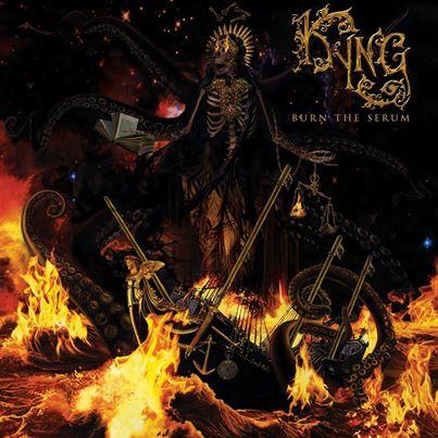 Kyng - Burn The Serum - promo cover pic - 2014