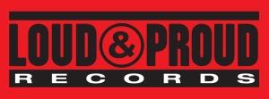 Loud & Proud Records - large logo - 2014 - red black white