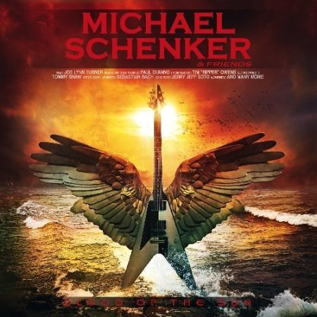 Michael Schenker & Friends - Blood Of The Sun - promo cover pic - 2014