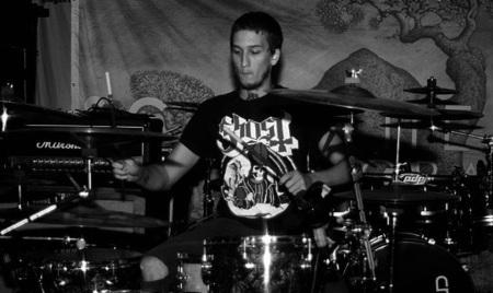 Nobel Beast - Andrew Rasmussen - drummer - 2014 - publicity pic