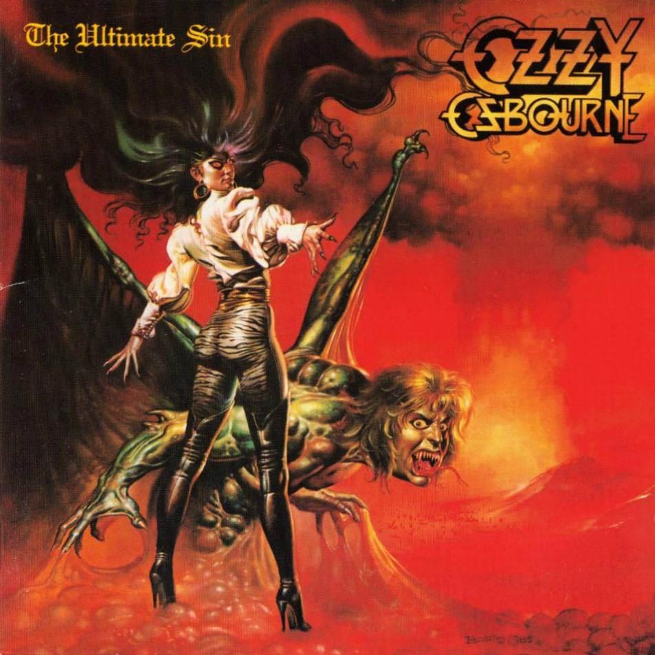 """OZZY OSBOURNE """"The Ultimate Sin"""""""
