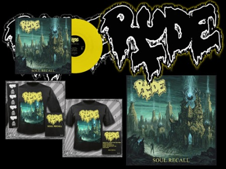Rude - Soul Recall - promo album merch flyer - 2014