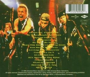 Scorpions - Live Bites - back cover pic - 1995