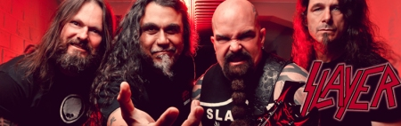 Slayer - band - band logo - promo banner - 2014 - #00392