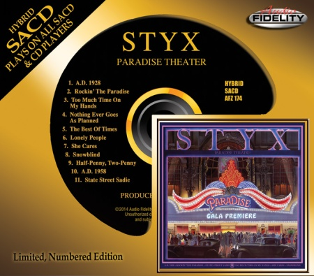 Styx - Paradize Theater - SACD - promo cover pic - 2014