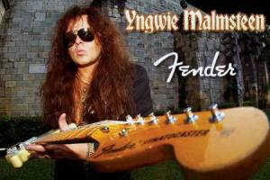 Yngwie Malmsteen - Fender Stratocaster - promo pic - 2014 - #110017