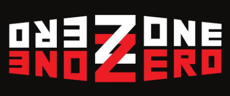 Zone Zero - classic band logo - 2014