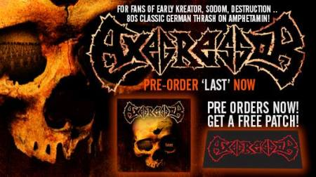 Axegressor - Last - promo album banner - 2014 - #00340