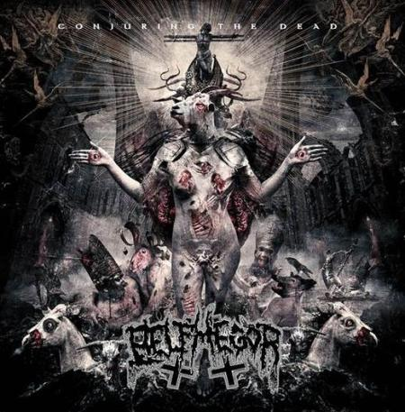 Belphegor - Conjuring The Dead - promo cover pic - 2014