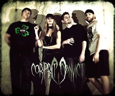 Corprit Convict - promo band pic - band logo - 2014 - #40084
