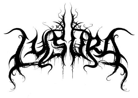LYSURA - band logo - B&W - 2014