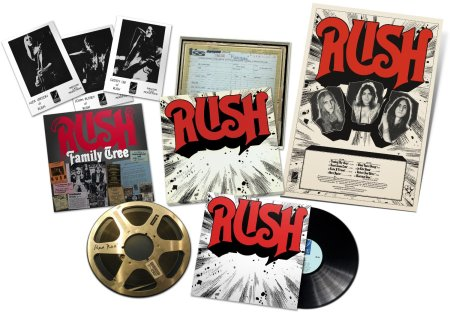Rush - Rediscovered LP Box Set - promo pic - 2014 - Ume