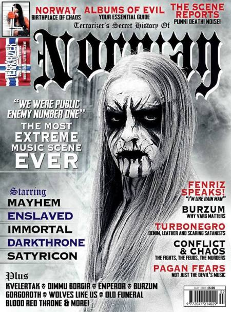Terrorizer Magazine - Norway - special issue - May 2014 - promo cover pic