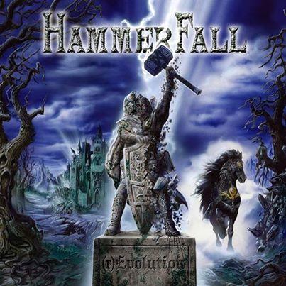 Hammerfall - rEvolution - promo cover pic - 2014