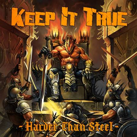 Keep It True - Harder Than Steel - promo cover pic - 2014 - #7709