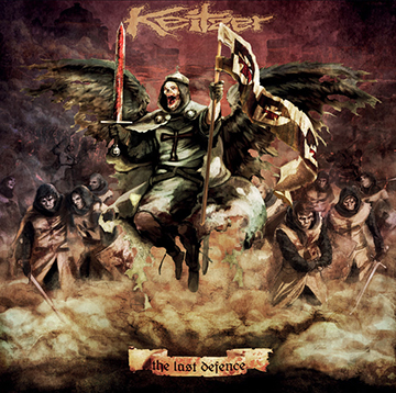 Keitzer - The Last Defense - promo cover pic - 2014