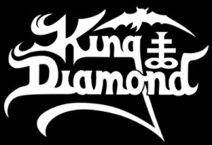 King Diamond - Classic Logo - B&W - #16607