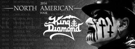 King Diamond - North American Tour - 2014 - promo banner