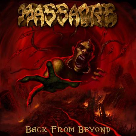 Massacre - Back From Beyond - promo cover pic - 2014