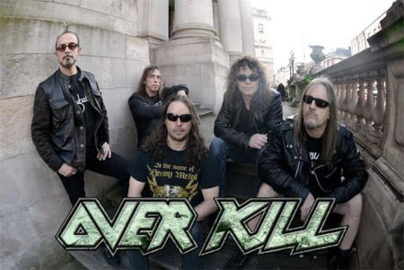 Overkill - promo band pic - band logo - 2014 - #66803