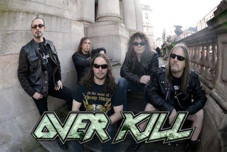 Overkill - promo band pic - band logo - 2014 - #66803