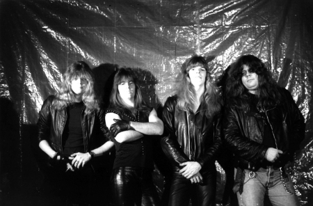 Powerlord - band promo pic - circa early 80's - #3383