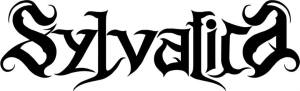 Sylvatica - band logo - B&W - 2014 - #100