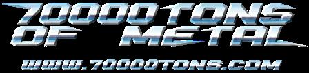 70000 Tons Of Metal - logo - 2014