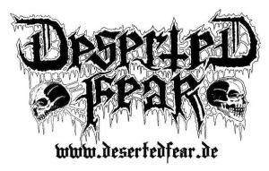 Deserted Fear - Band Logo - B&W - 2014