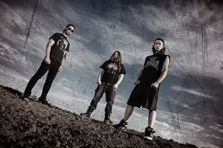 Display Of Decay - promo band pic - 2014 - #4490