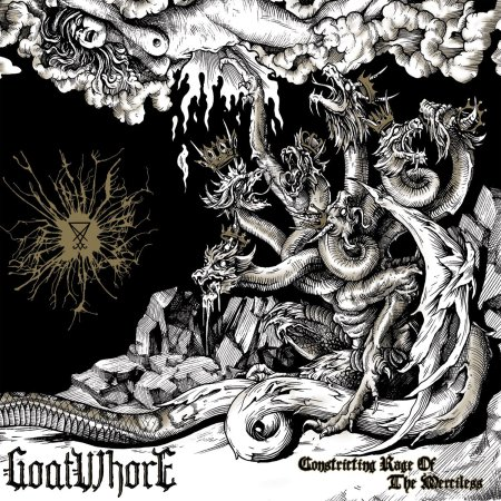 Goatwhore - Constricting Rage Of The Merciless - promo cover
