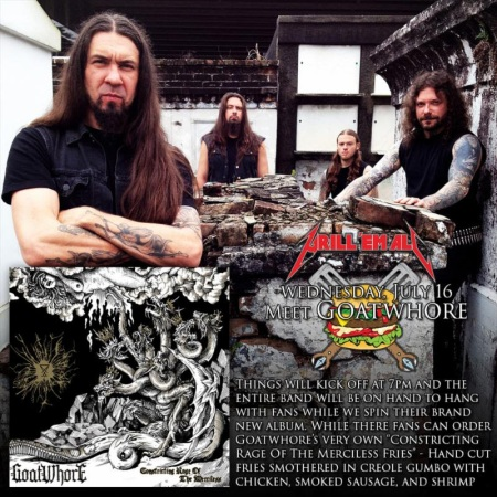Goatwhore - Grill 'Em All - promo band pic - 2014
