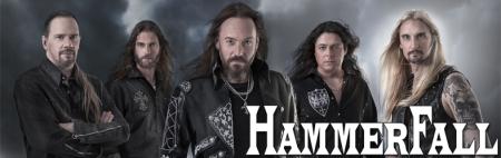Hammerfall - promo band banner - 2014 - #9740