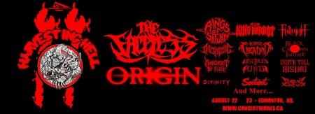 Harvesting Hell - festival promo banner - 2014