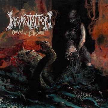 Incantation - Dirges Of Elysium - promo cover pic