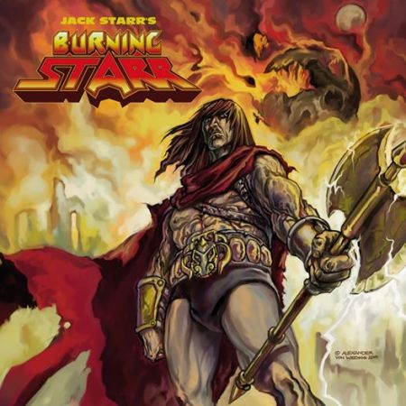 Jack Starr's Burning Starr - promo cover - 1989