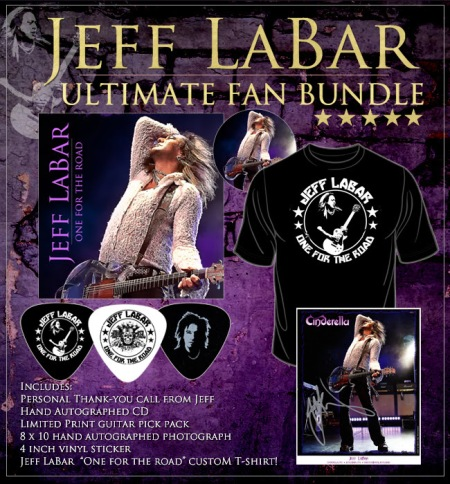 Jeff Labar - Ultimate Fan Bundle - promo ad flyer - 2014
