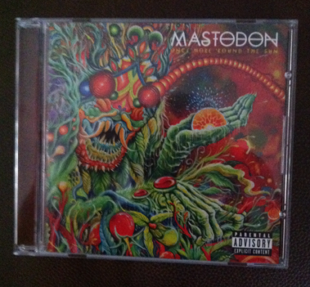 Mastodon - Once More 'Round The Sun - CD promo pic - Stone:Metal Odyssey - 2014