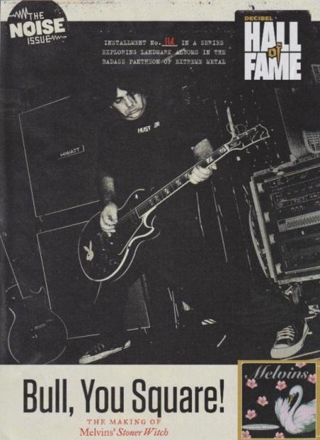 Melvins - Decibel Magazine promo cover - 2014 - Buzz Osborne