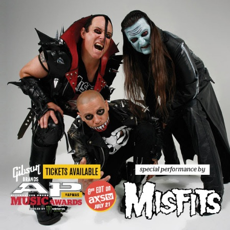 Misfits - AP Music Awards - 2014 - promo flyer