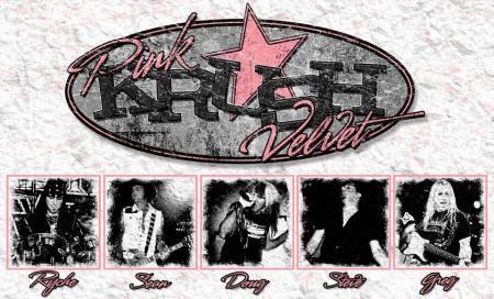 Pink Velvet Krush - promo logo - band collage - 2014 - #00492