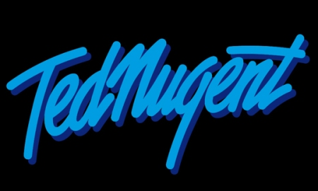 Ted Nugent - Blue & Black - Name - Logo