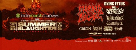 The Summer Slaughter Tour 2014 - promo banner - #00667