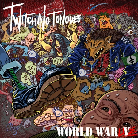 Twitching Tongues - World War Live - promo cover pic - 2014