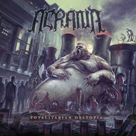 Acrania - Totalitarian Dystopia - promo cover pic