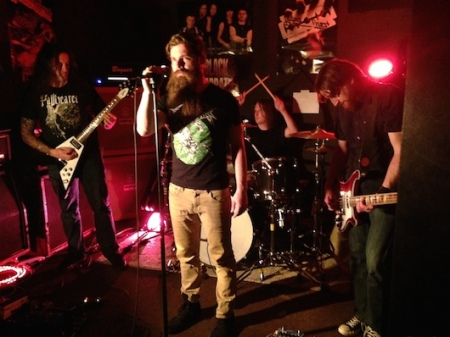 Behold! The Monolith - live promo band pic - 2014 - #36634