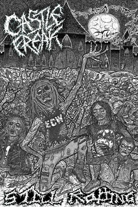 Castle Freak - Still Rotting - Cassette Artwork promo pic - 2014